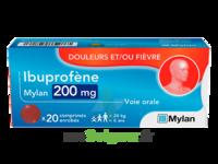 Ibuprofene Mylan 200 Mg, Comprimé Enrobé à Genas