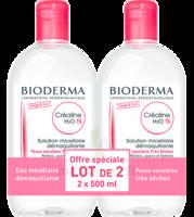 Crealine Ts H2o Solution Micellaire Sans Parfum Nettoyante Apaisante 2fl/500ml à Genas
