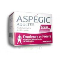Aspegic Adultes 1000 Mg, Poudre Pour Solution Buvable En Sachet-dose 20 à Genas