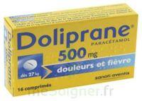 DOLIPRANE 500 mg Comprimés 2plq/8 (16) à Genas