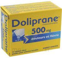 DOLIPRANE 500 mg Poudre pour solution buvable en sachet-dose B/12 à Genas