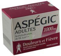 Aspegic Adultes 1000 Mg, Poudre Pour Solution Buvable En Sachet-dose 15 à Genas