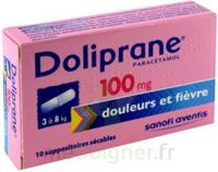Doliprane 100 Mg Suppositoires Sécables 2plq/5 (10) à Genas
