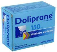 Doliprane 150 Mg Poudre Pour Solution Buvable En Sachet-dose B/12 à Genas