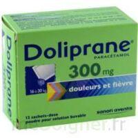 DOLIPRANE 300 mg Poudre pour solution buvable en sachet-dose B/12 à Genas