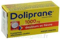 DOLIPRANE 1000 mg Comprimés effervescents sécables T/8 à Genas