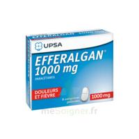 Efferalgan 1000 Mg Comprimés Pelliculés Plq/8 à Genas