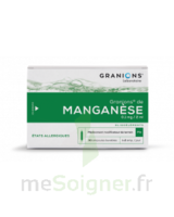Granions De Manganese 0,1 Mg/2 Ml S Buv En Ampoule 30amp/2ml à Genas
