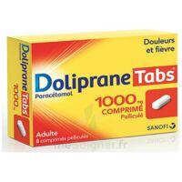 DOLIPRANETABS 1000 mg Comprimés pelliculés Plq/8 à Genas
