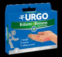 Urgo Brulures-blessures Petit Format X 6 à Genas