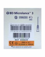 Bd Microlance 3, G25 5/8, 0,5 Mm X 16 Mm, Orange  à Genas