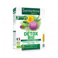 Santarome Bio Détox Solution buvable 20 Ampoules/10ml à Genas