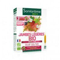 Santarome Bio Jambes légères Solution buvable 20 Ampoules/10ml à Genas