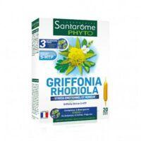Santarome Bio Griffonia Rhodiola Solution buvable 20 Ampoules/10ml à Genas