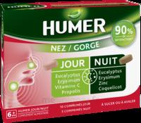 HUMER Nez/Gorge jour&nuit 15 comprimés à Genas