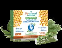 Puressentiel Respiratoire Pastilles Respiratoire aux 3 miels aromatiques - 18 pastilles à Genas