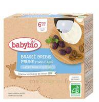 Babybio Gourde Brassé Brebis Prune à Genas
