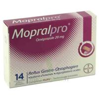 Mopralpro 20 Mg Cpr Gastro-rés Film/14 à Genas