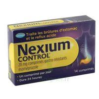 Nexium Control 20 Mg Comprimés Gastro-résistants Plq/14 à Genas
