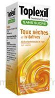 TOPLEXIL 0,33 mg/ml sans sucre solution buvable 150ml à Genas