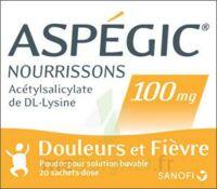 Aspegic Nourrissons 100 Mg, Poudre Pour Solution Buvable En Sachet-dose à Genas