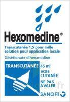 HEXOMEDINE TRANSCUTANEE 1,5 POUR MILLE, solution pour application locale à Genas