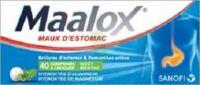 Maalox Hydroxyde D'aluminium/hydroxyde De Magnesium 400 Mg/400 Mg Cpr à Croquer Maux D'estomac Plq/40 à Genas