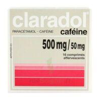 Claradol Cafeine 500 Mg/50 Mg, Comprimé Effervescent à Genas