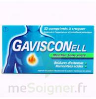 Gavisconell Coprimés à Croquer Sans Sucre Menthe édulcoré à L'aspartam Et à L'acésulfame Potas Plq/24 à Genas