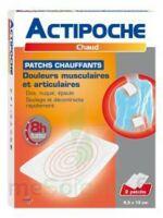 Actipoche Patch chauffant douleurs musculaires B/2 à Genas