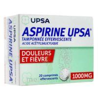 Aspirine Upsa Tamponnee Effervescente 1000 Mg, Comprimé Effervescent à Genas