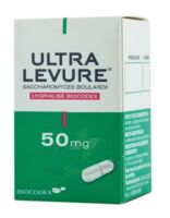 ULTRA-LEVURE 50 mg Gélules Fl/50 à Genas