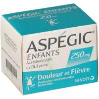 Aspegic Enfants 250, Poudre Pour Solution Buvable En Sachet-dose à Genas