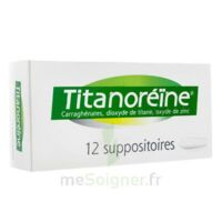 TITANOREINE Suppositoires B/12 à Genas