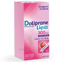 Dolipraneliquiz 300 mg Suspension buvable en sachet sans sucre édulcorée au maltitol liquide et au sorbitol B/12 à Genas