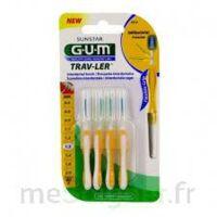GUM TRAV - LER, 1,3 mm, manche jaune , blister 4 à Genas