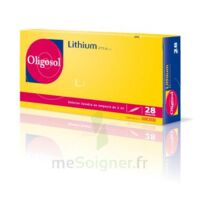 Oligosol Lithium Solution Buvable En Ampoule Ou En Récipient Unidose 28amp/2ml à Genas