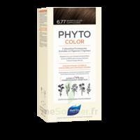 Phytocolor Kit coloration permanente 6.77 Marron clair cappuccino à Genas