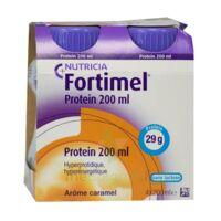 Fortimel Protein Nutriment Caramel 4 Bouteilles/200ml à Genas