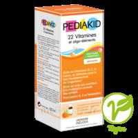 Pédiakid 22 Vitamines Et Oligo-eléments Sirop Abricot Orange 125ml à Genas