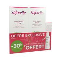Saforelle Solution soin lavant doux 2*500ml+100ml à Genas