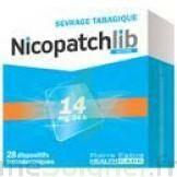 Nicopatchlib 14 Mg/24 H Dispositifs Transdermiques B/28 à Genas
