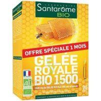 Santarome Bio Gelée royale Solution buvable 30 Ampoules/10ml à Genas