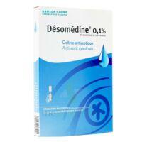 Desomedine 0,1 % Collyre Sol 10fl/0,6ml à Genas