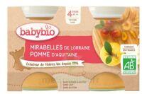 Babybio Pot Mirabelle Pomme à Genas