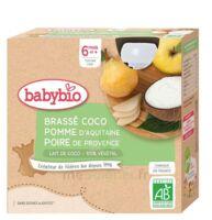 Babybio Gourde Brassé Lait De Coco Pomme Poire à Genas
