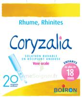 Boiron Coryzalia Solution Buvable Unidose B/20 à Genas