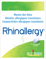 Boiron Rhinallergy Comprimés B/40 à Genas