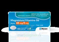 Magnesium/vitamine B6 Mylan 48 Mg/5 Mg, Comprimé Pelliculé à Genas