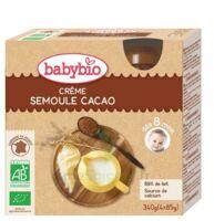 Babybio Gourde Crème Semoule Cacao à Genas